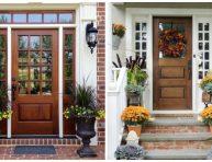 imagen 21 ideas para tener una puerta de entrada de madera