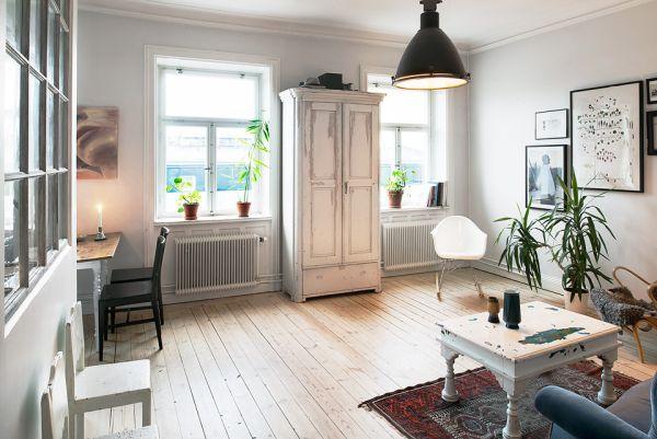 C lidas y acogedoras salas de estar de estilo n rdico for Salas de estar acogedoras