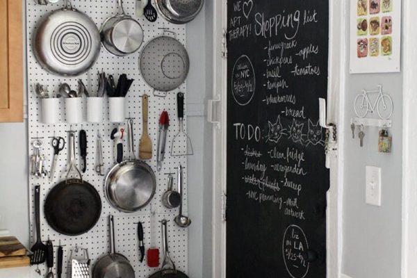Ideas para organizar una cocina peque a for Como organizar una casa pequena