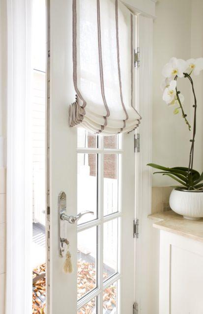 Cómo vestir las puertas cristaleras de casa