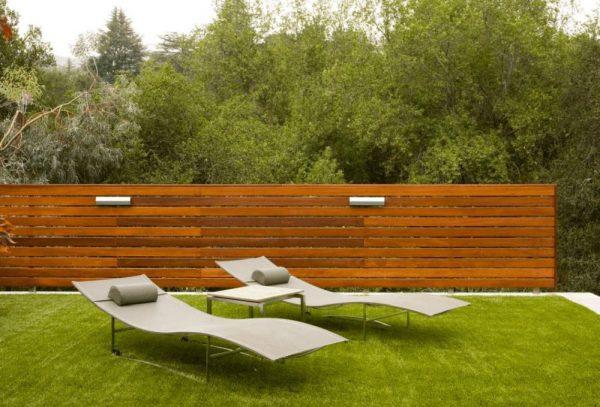Ideas de cercas de jard n de estilo moderno - Cercas para jardin ...