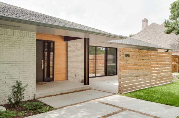 Ideas de cercas de jard n de estilo moderno - Cercas para jardines ...