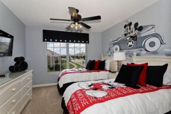 Decora Su Habitaci N Con El Cl Sico Mickey Mouse
