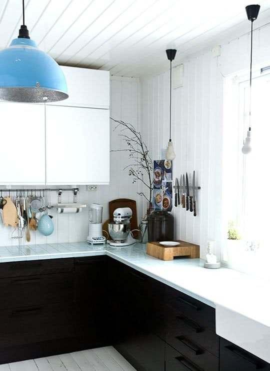 Ideas de encimeras de azulejos para decorar la cocina - Losas para cocina ...