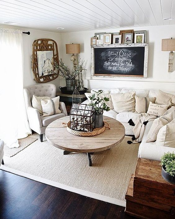 30 Cozy Home Decor Ideas For Your Home: Ideas Para Decorar Una Pequeña Sala De Estar