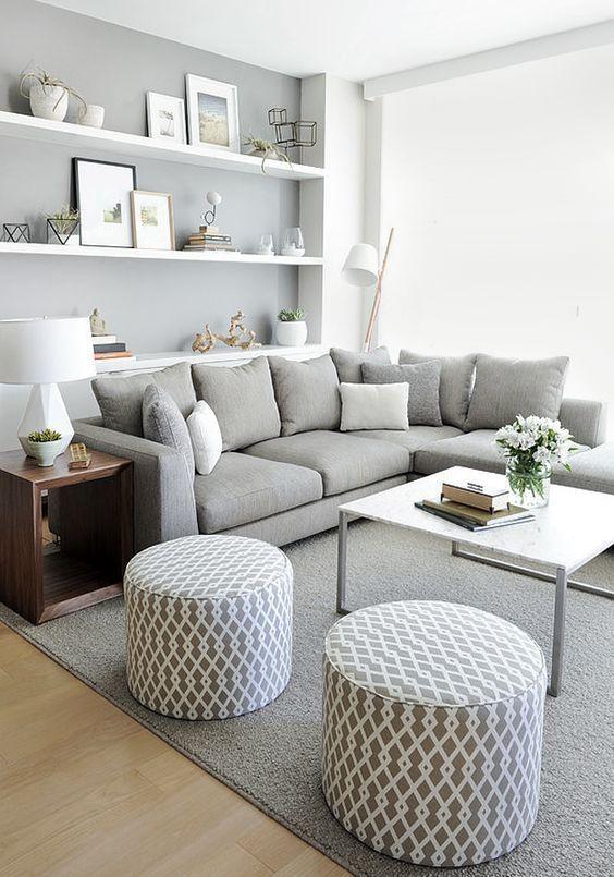 Ideas para decorar una peque a sala de estar for Laying out living room furniture
