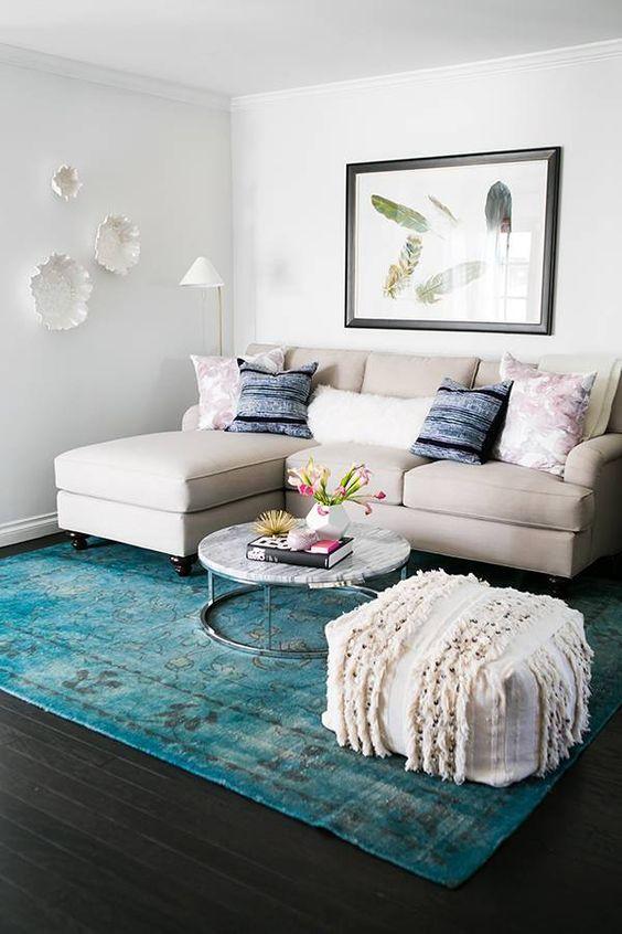 Ideas para decorar una peque a sala de estar - Como decorar una habitacion pequena ...