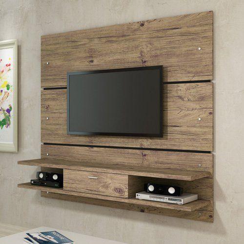 propuestas elegantes para colgar el televisor en la pared. Black Bedroom Furniture Sets. Home Design Ideas