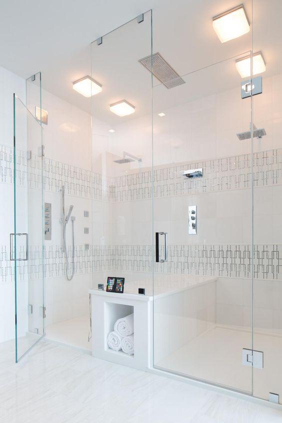 Propuestas para una ducha sin plato 14 gu a para decorar - Duchas sin plato ...