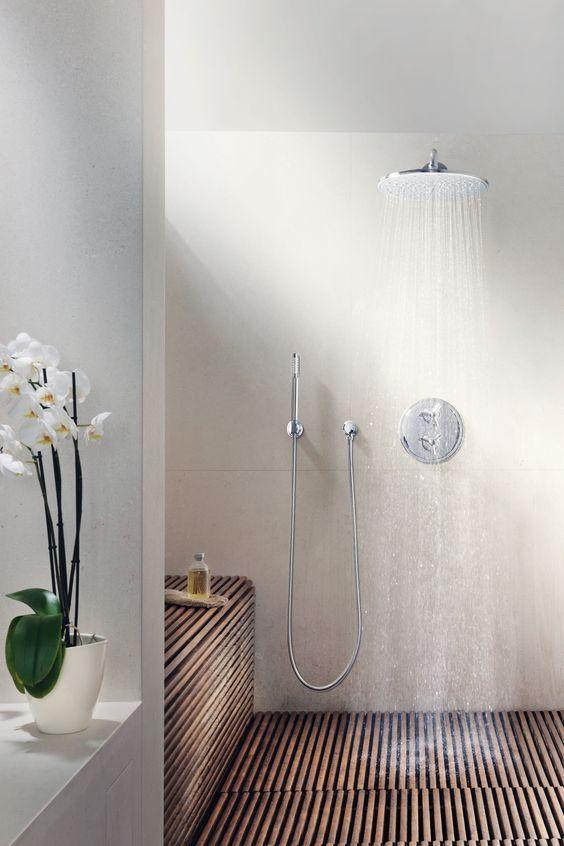 Propuestas para una ducha sin plato 20 gu a para decorar - Duchas sin plato ...