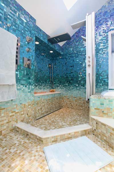 10 increíbles azulejos para el cuarto de baño