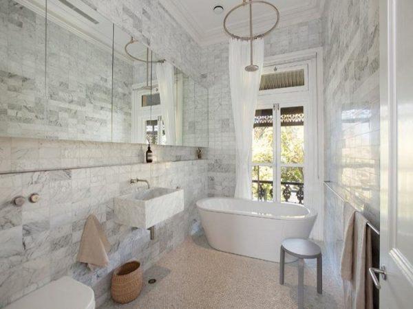 10 incre bles azulejos para el cuarto de ba o - Azulejos mosaicos para banos ...