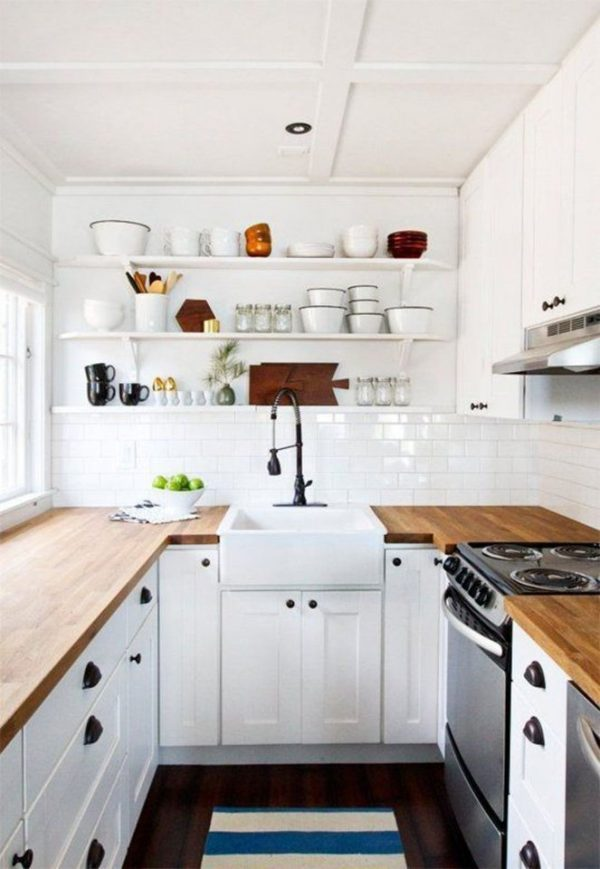 14 Deslumbrantes Cocinas Blancas