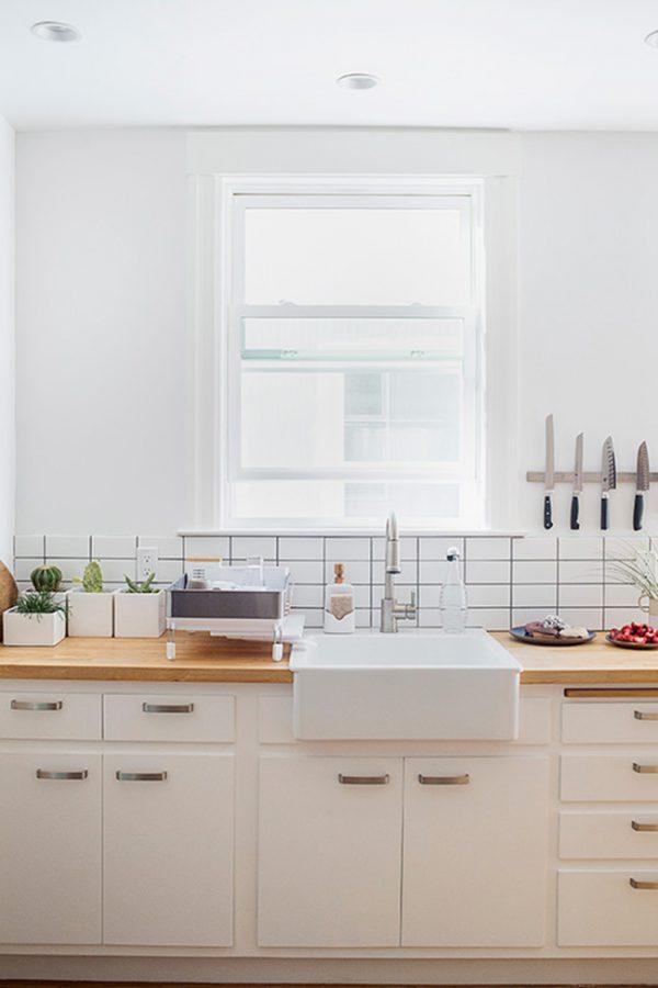 14 deslumbrantes cocinas blancas - Cocinas minimalistas blancas ...