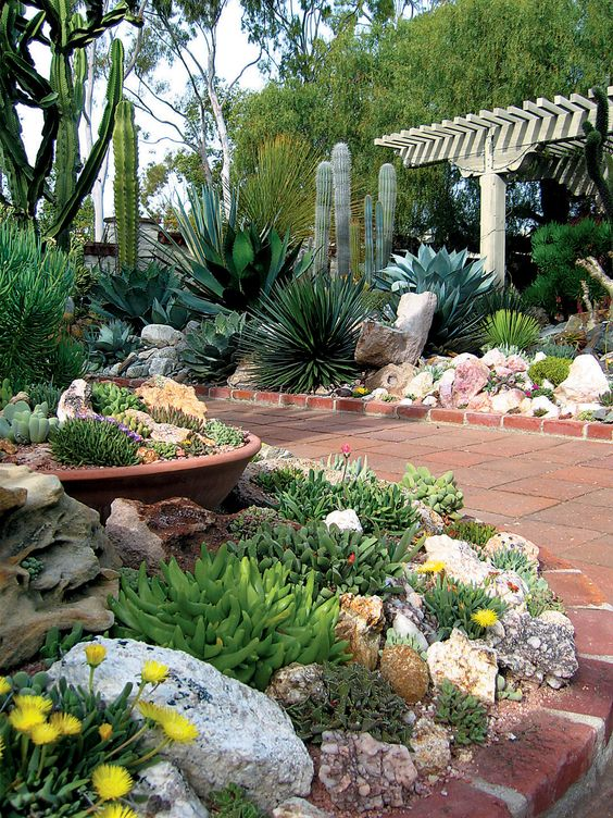 Decoracion jardin con piedras fabulous ideas para decorar for Decoracion de jardines con piedras