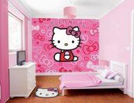 imagen Preciosas habitaciones infantiles decoradas con Hello Kitty