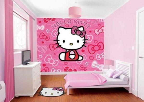 Preciosas habitaciones infantiles decoradas con hello kitty - Habitaciones infantiles decoradas ...