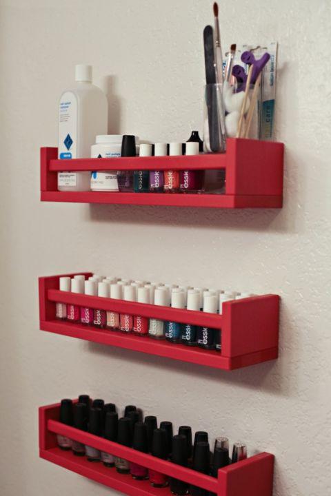 Ideas para decorar con el estante especiero bevkam de ikea - Ikea botes cocina ...