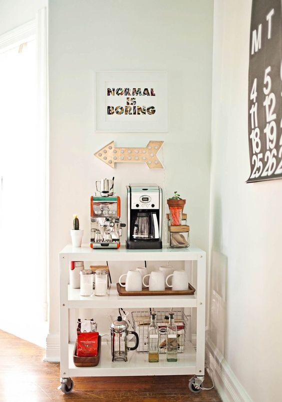 Arma tu rinc n del caf con estas ideas - Arreglar silla oficina se queda baja ...