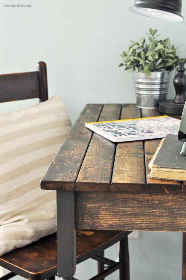 25 Propuestas De Escritorios Diy Para Tu Oficina En Casa