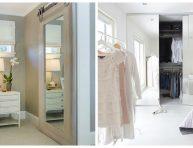 imagen Ten un armario con puertas de espejo