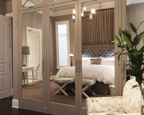 Ten un armario con puertas de espejo for Espejos con puertas viejas