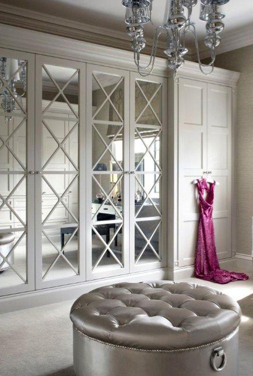 Armarios con puertas de espejo 17 gu a para decorar - Puertas de espejo ...