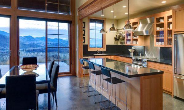 Cocinas de concepto abierto for Modelo de cocina abierta en el comedor