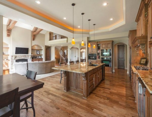 Cocinas de concepto abierto for Beautiful open kitchen designs with pictures
