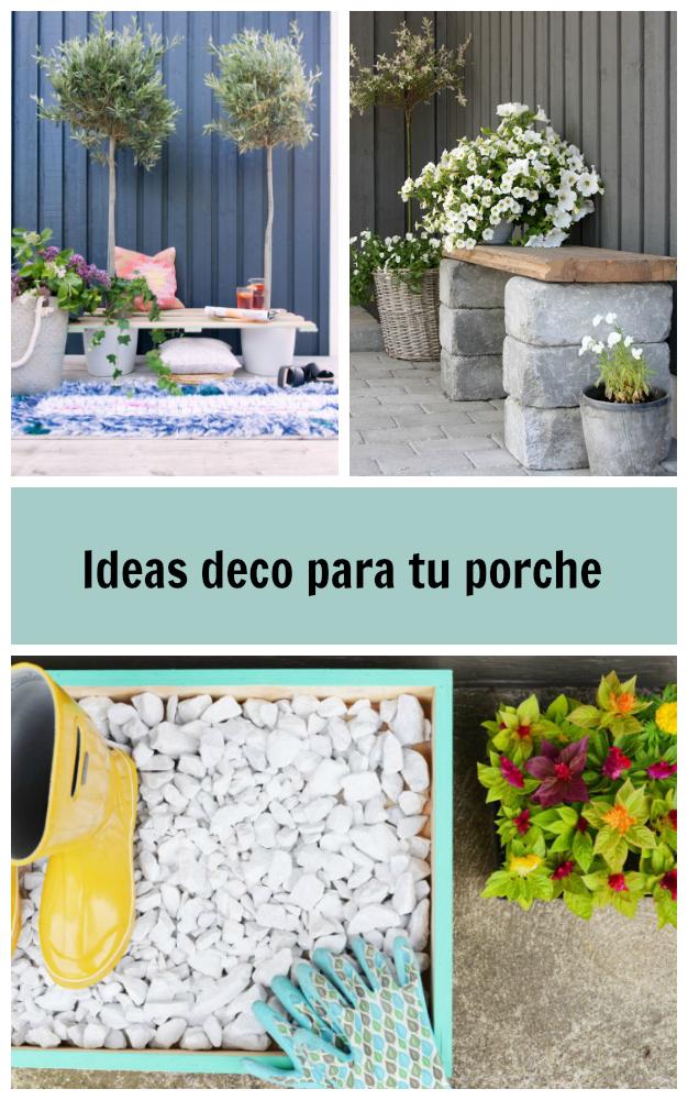 Ideas para decorar el porche de tu casa - Ideas para decorar porche entrada ...
