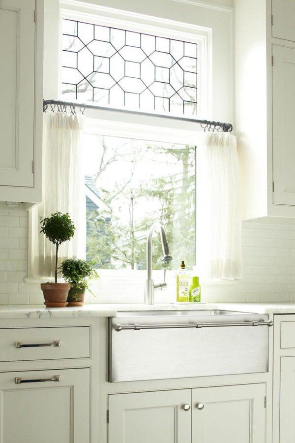 Gu a para elegir las cortinas de la cocina - Cortinas decorativas para cocina ...