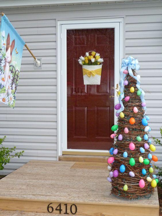 Ideas para decorar tu porche en pascua for Porches de ocasion