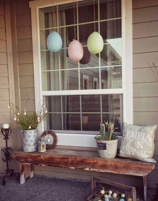 Ideas para decorar tu porche en pascua - Decorar pared porche ...