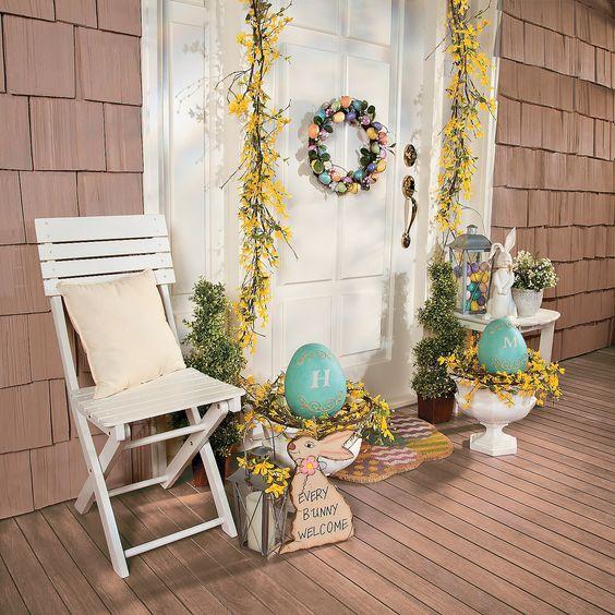 Como decorar un porche good decorar el porche con un - Decorar un porche ...