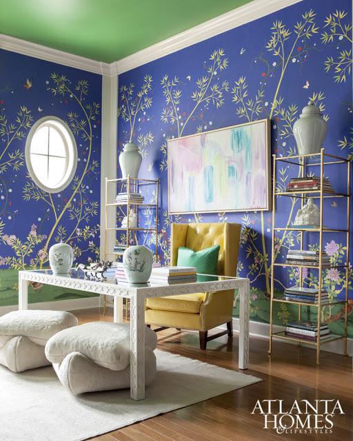 Renueva cualquier espacio de tu casa con papel pintado for Papel pintado para oficinas
