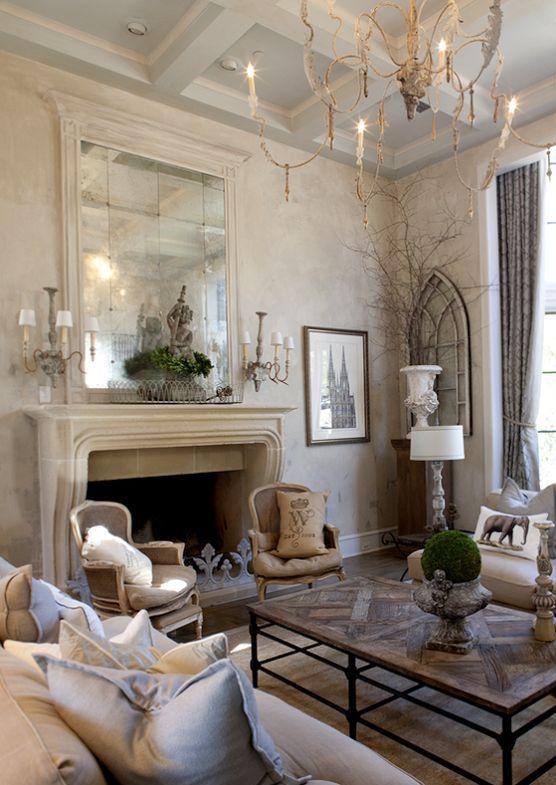 Sala De Estar In French ~ 15 ideas de estilo french country para tu sala de estar Artículo