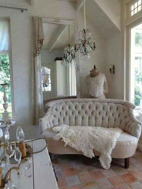 French Country Bedrooms Vintage