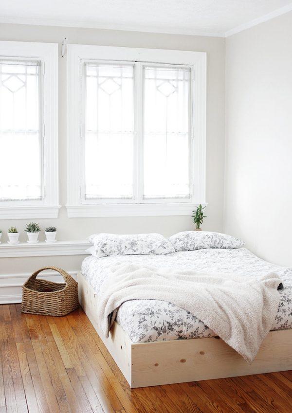 21 inspiradoras camas DIY para la habitación
