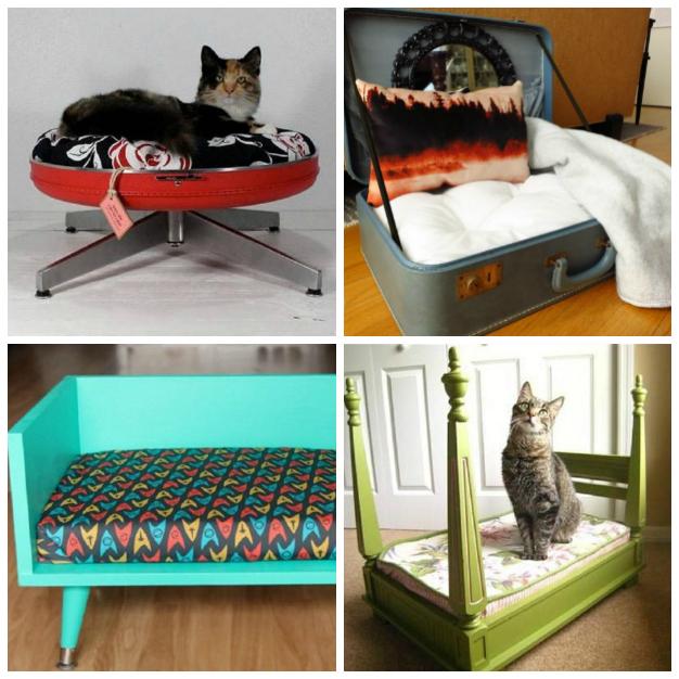 15 camas para mascotas hechas con objetos reciclados - Hacer camas para perros ...