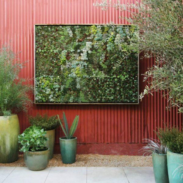 Como hacer un jardin vertical de interior tipos de jardn - Como hacer un jardin vertical de interior ...