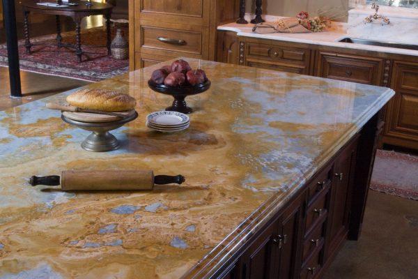 Ideas de encimeras de granito para la cocina for Granito para encimeras
