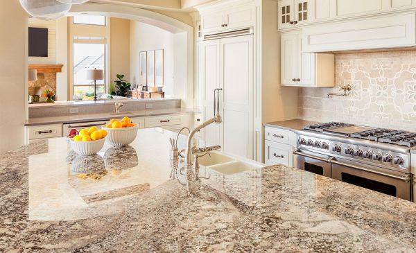 Ideas de encimeras de granito para la cocina for Barra de granito para cocina precio
