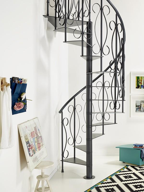 Ideas para decorar tu casa con una escalera de caracol - Escaleras de caracol minimalistas ...