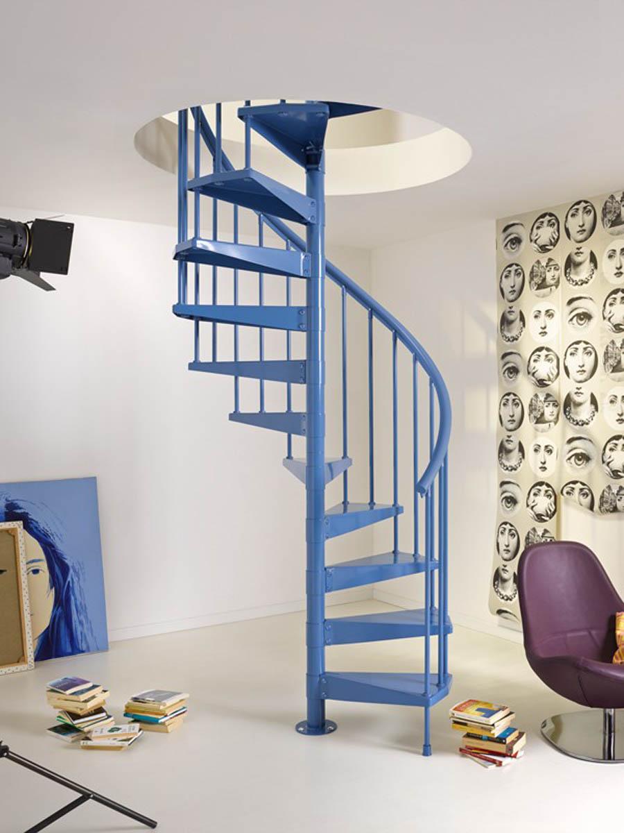 Escaleras caracol 6 gu a para decorar - Escalera caracol prefabricada ...