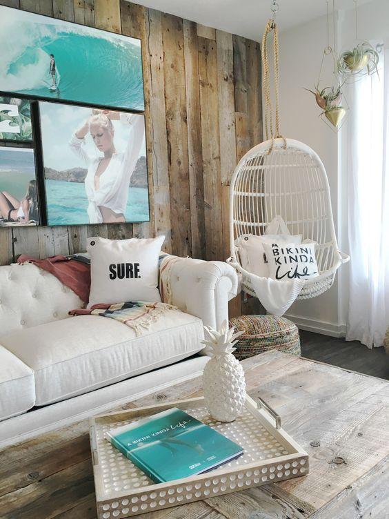 17 Ideas Para Anadir Un Aire De Playa A La Decoracion - Decoracion-casa-playa