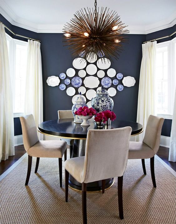 20 ideas para decorar paredes con platos