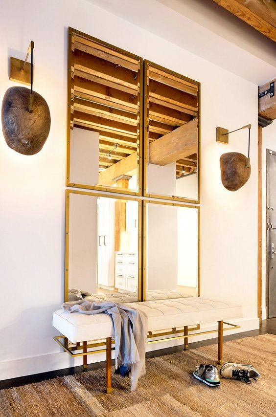 vamos a ver algunos ejemplos de espejos grandes para decorar el recibidor comenzaremos por decoraciones de estilo moderno y contemporneo que nos exigirn - Decorar Un Recibidor