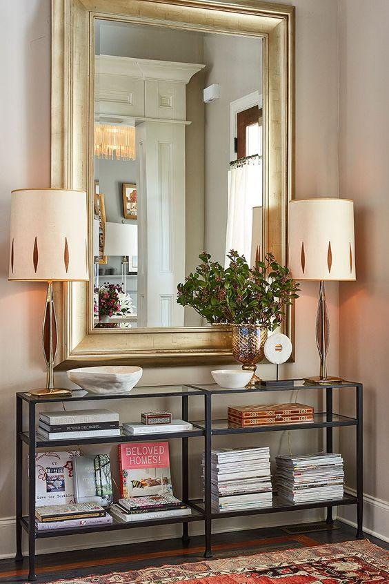 Espejos grandes para decorar el recibidor for Espejos grandes con marco