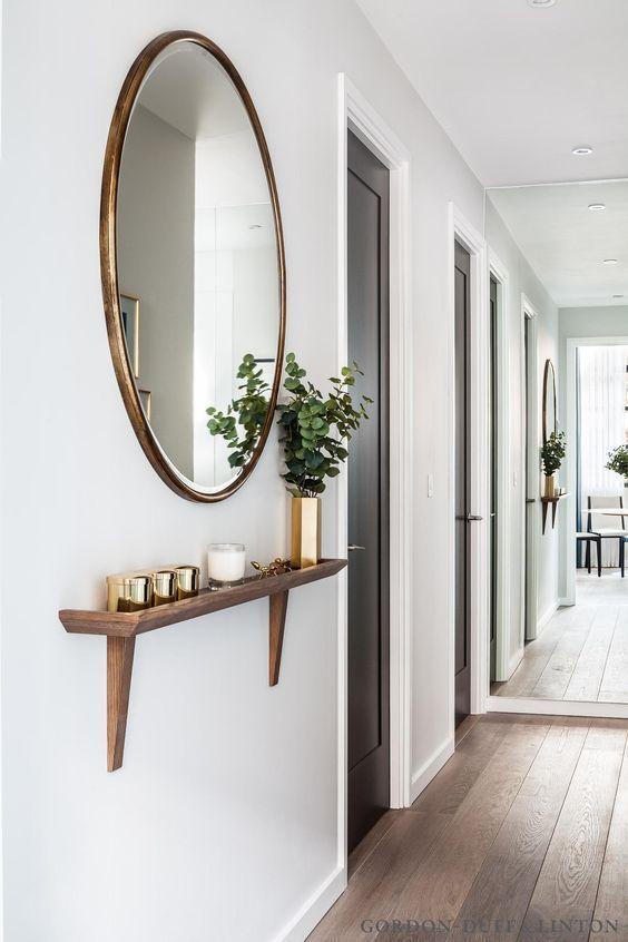 Espejos grandes para decorar el recibidor - Espejos grandes para pared ...