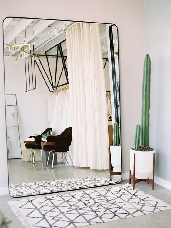 Espejos grandes para decorar el recibidor - Espejos sin marco ikea ...